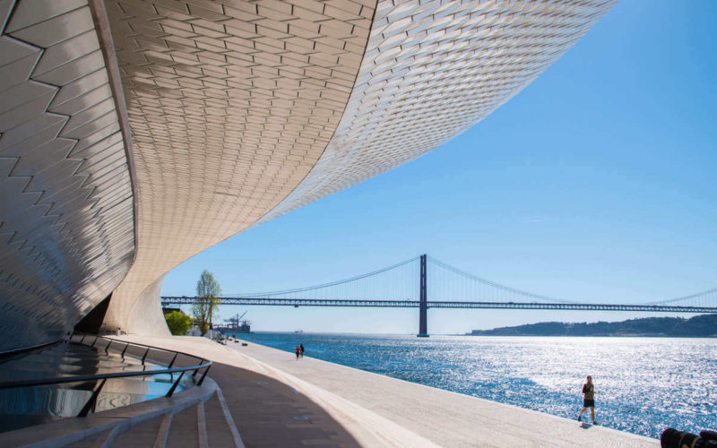 MAAT Museum of Art, Architecture and Technologie, Lisbonne, Portugal