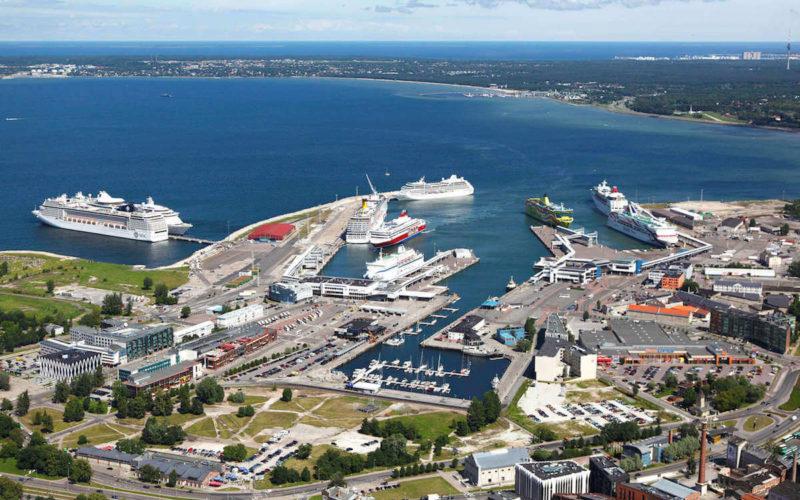 Port de Tallinn, Estonie
