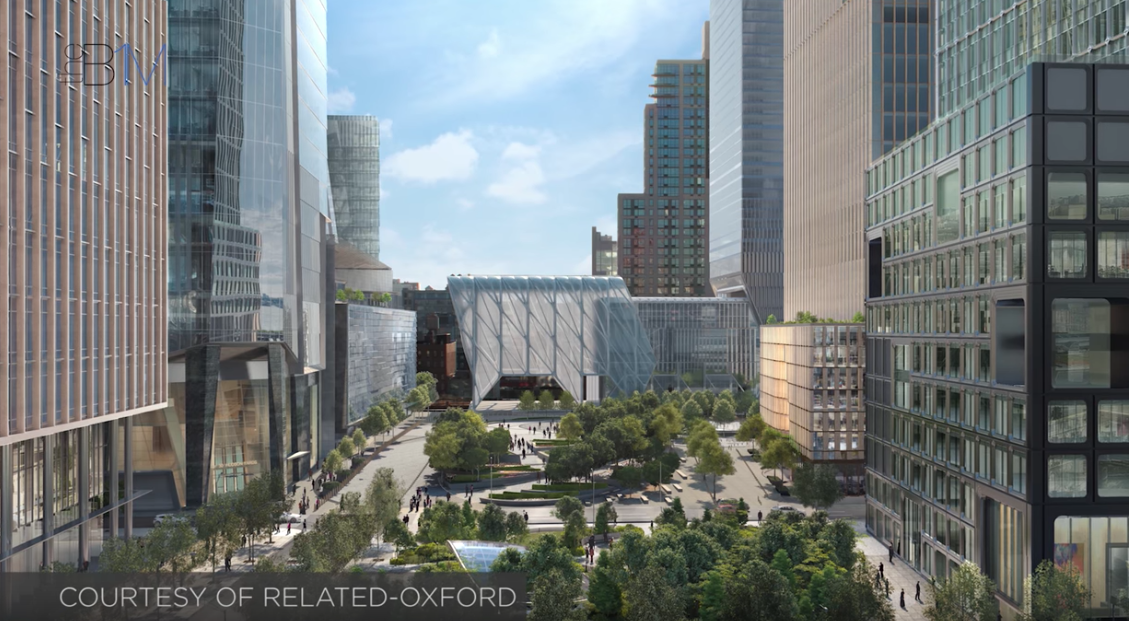 The hudson yard project
