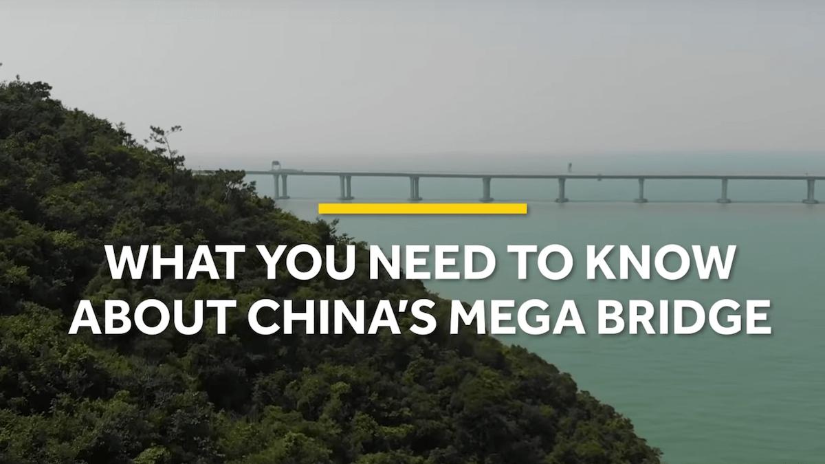 China's new mega bridge