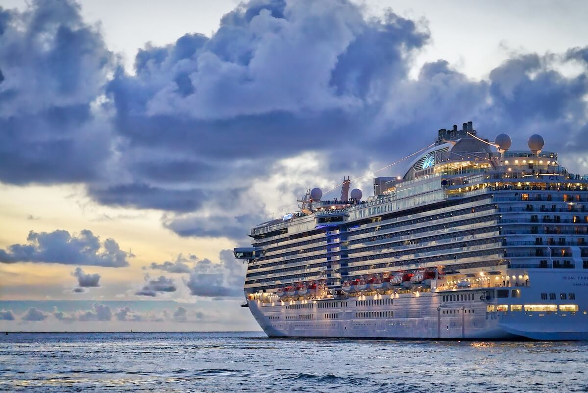 dusk cruise ship