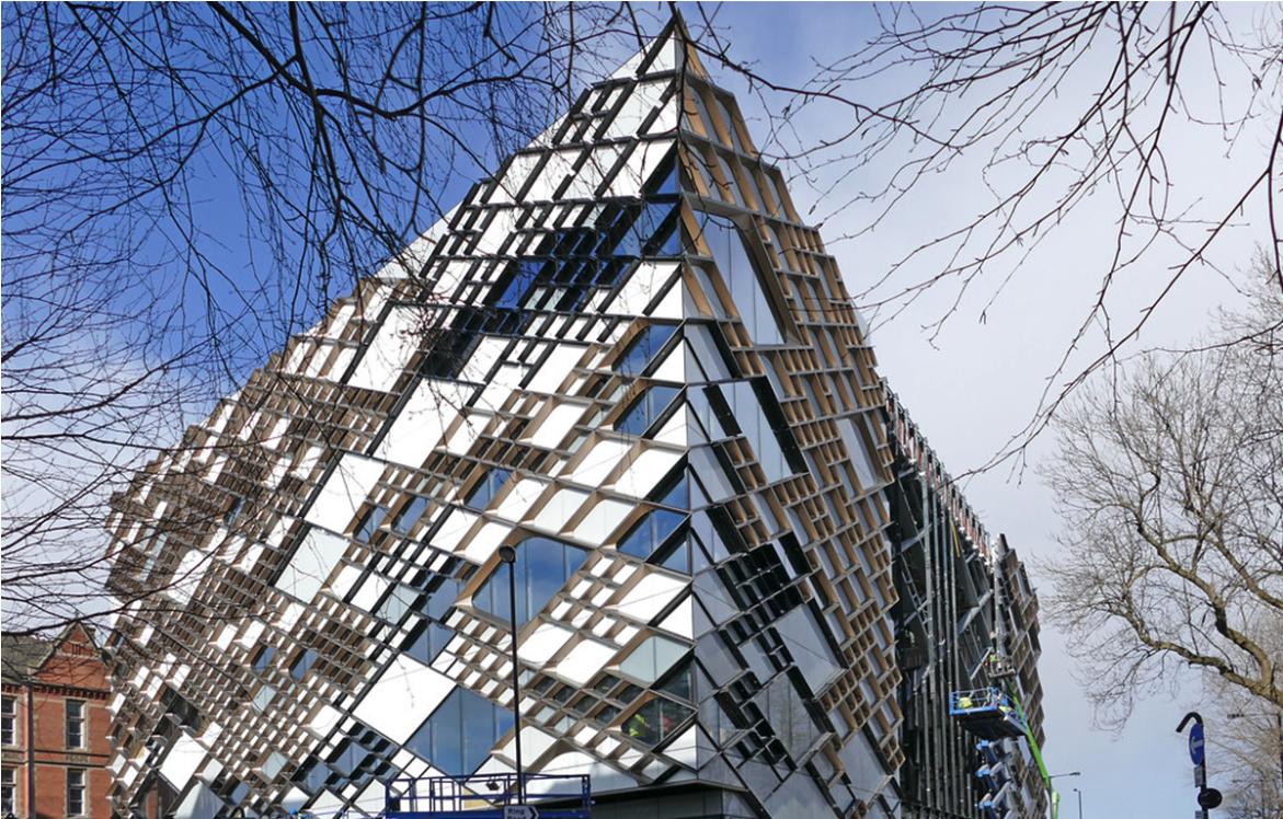 十二建筑师事务所设计的钻石教学楼(The Diamond Building)