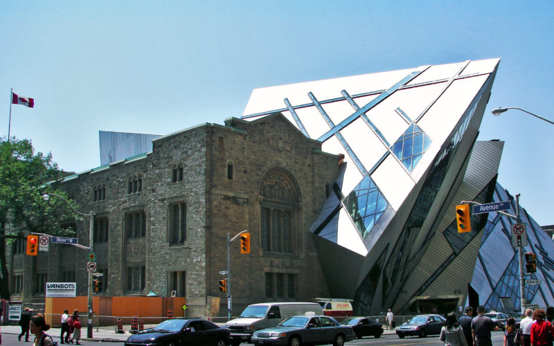 Royal Ontario Museum addition by Daniel Libeskind