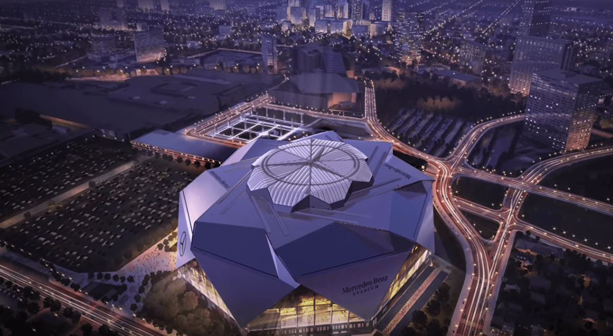 Atlanta's Mercedes-Benz Stadium