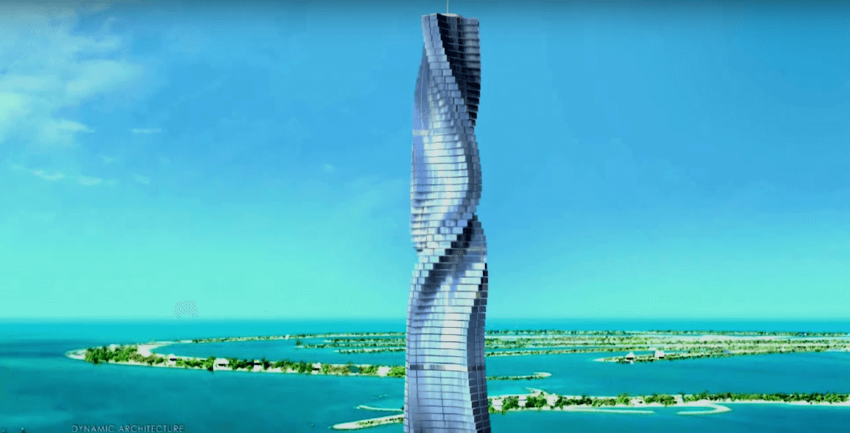 The World's First Rotating Skyscraper