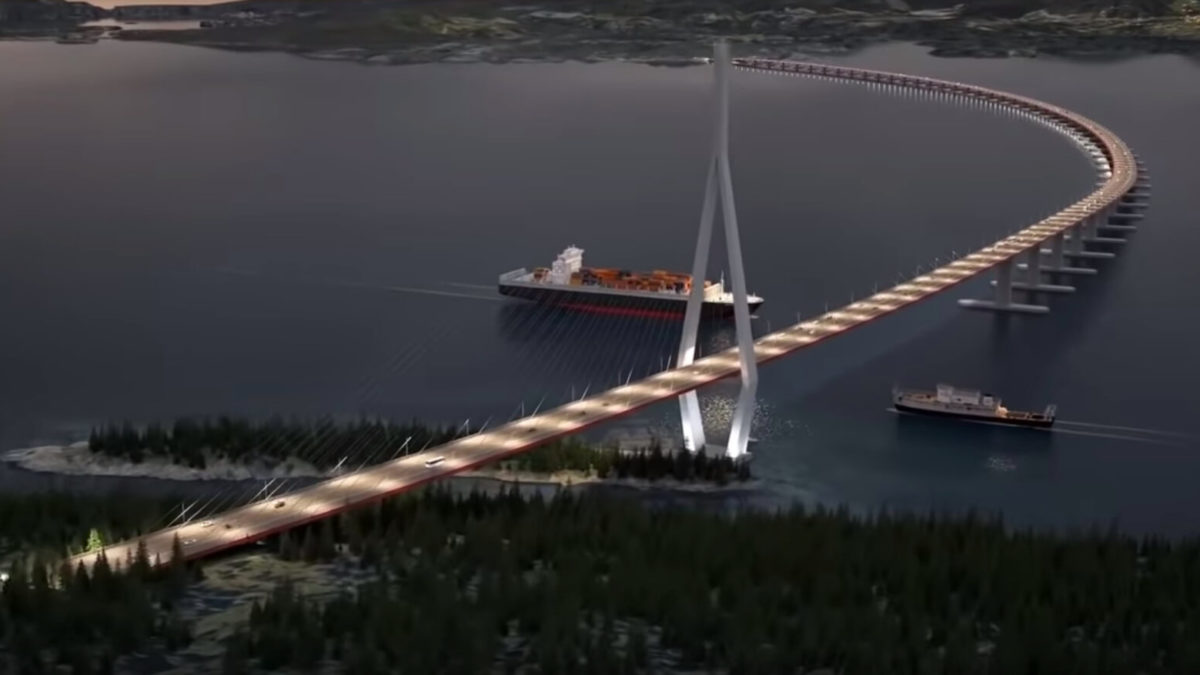 Norway's $47BN Coastal Highway