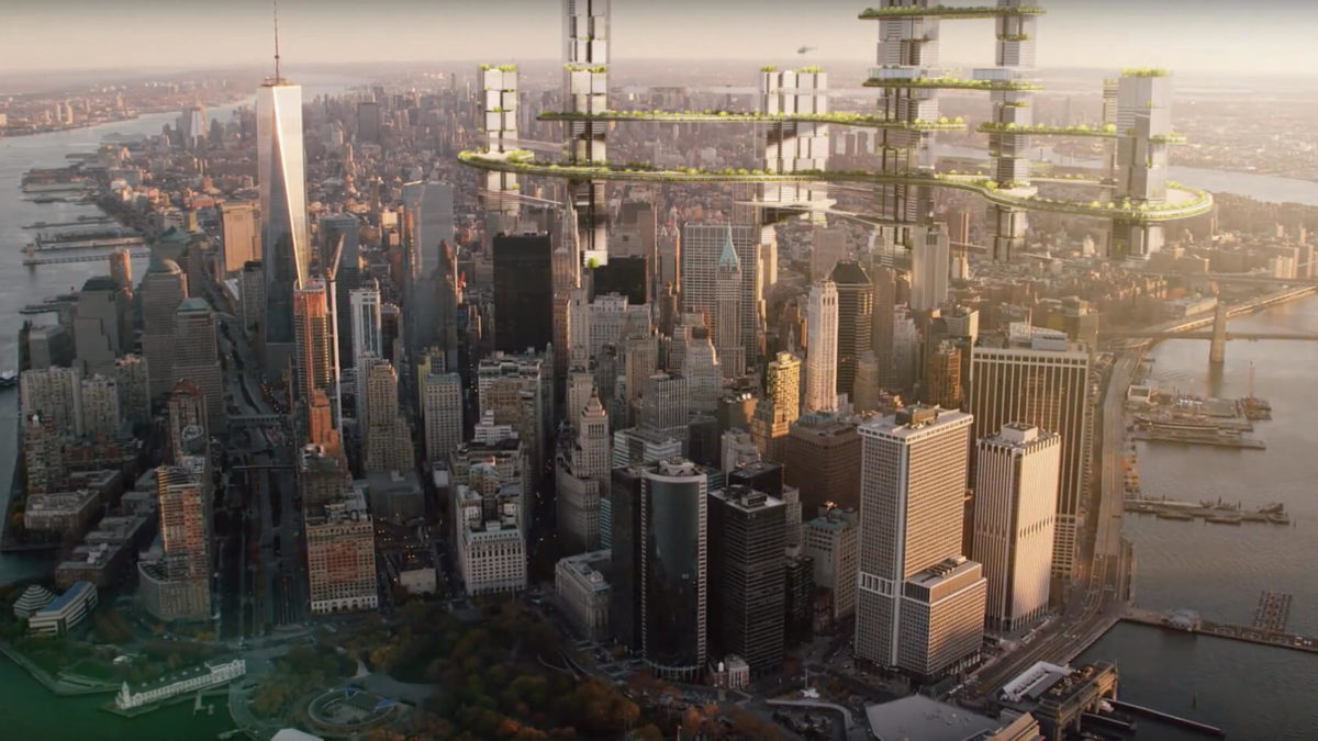 thyssenkrupp MULTI elevator - The future of cities is the sky
