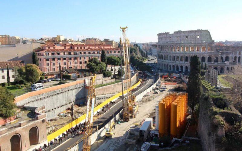 Rome Colosseum Metro Station