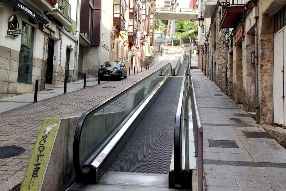 Santander Moving Walkway