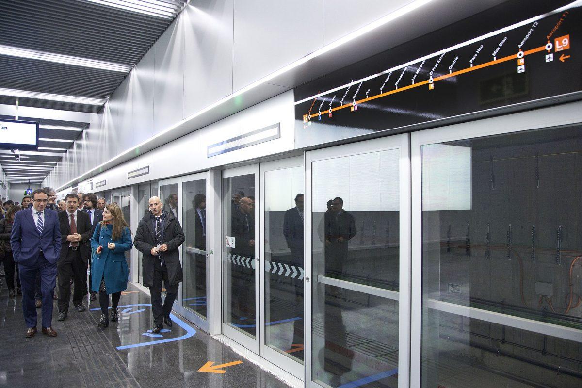 Barcelona Metro L9