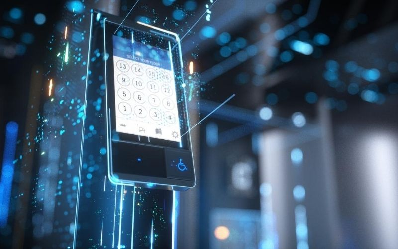 Elevator Touchscreen