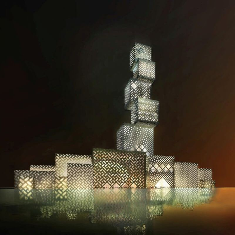 Cube Tower Foshan