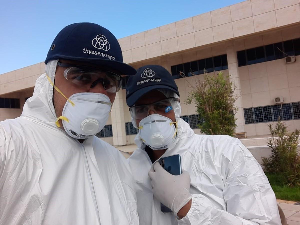 Jordan Hospital Coronavirus