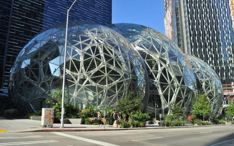 Amazon Spheres, Seattle, Estados Unidos de América