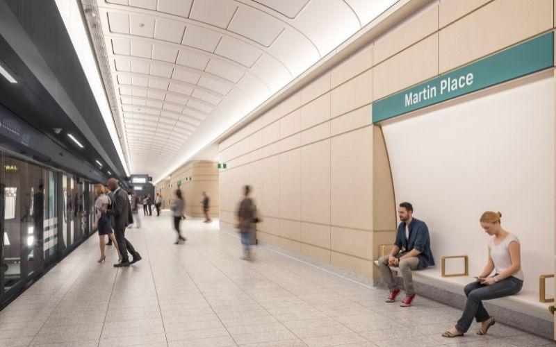 Sydney Metro Martin Place Station