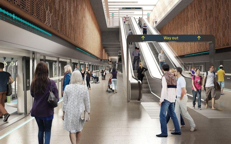 Sydney Metro Waterloo Station