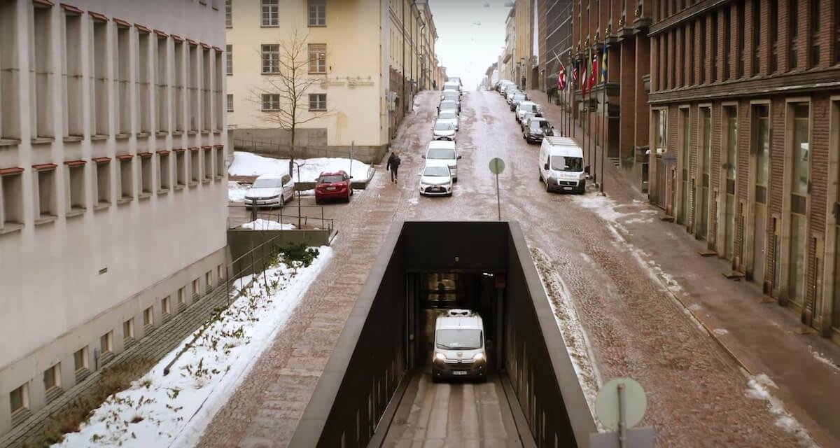 Helsinki tunnels