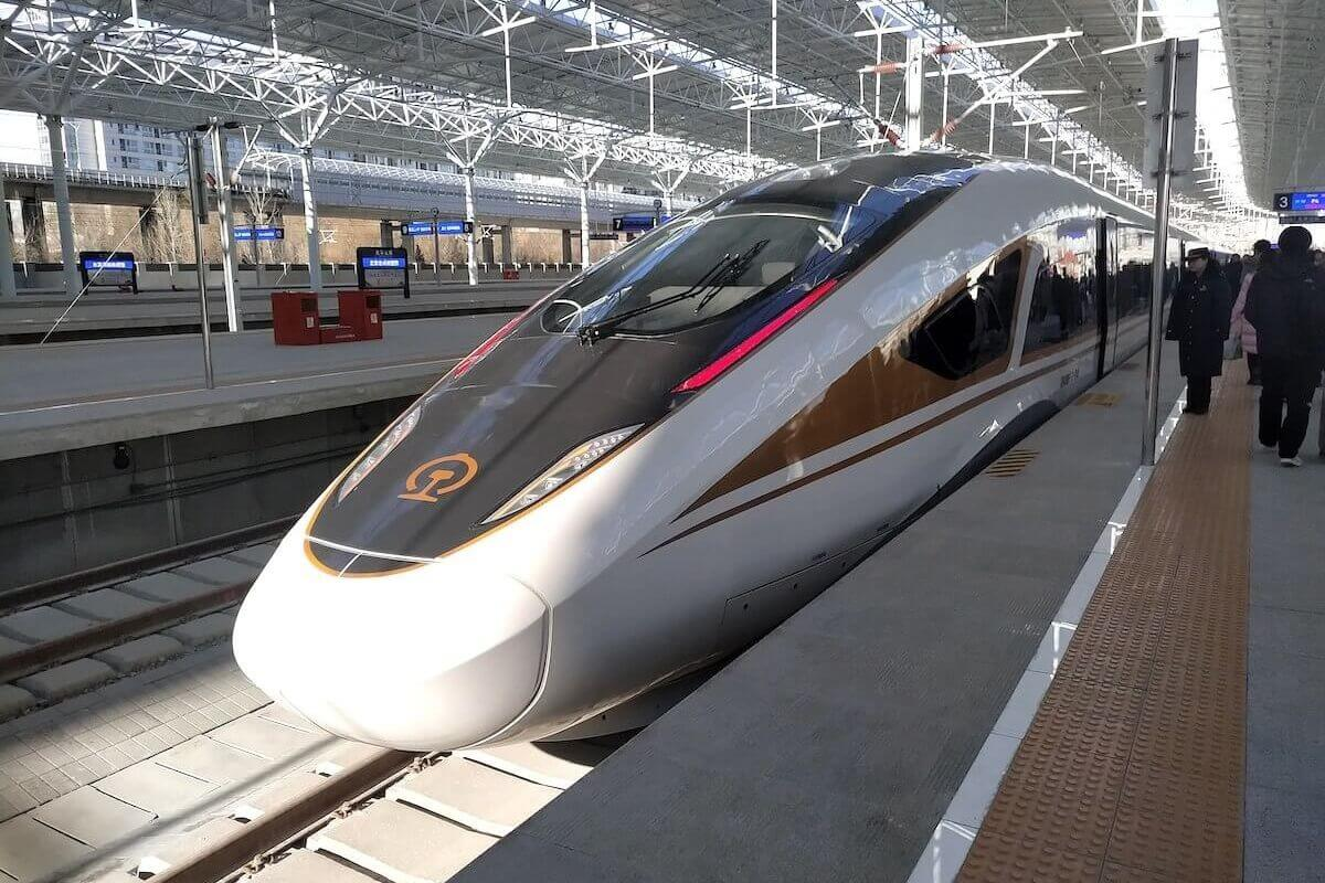 China High Speed Train Front