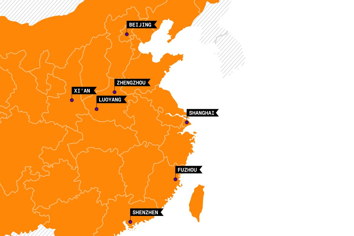 China Railway Cities