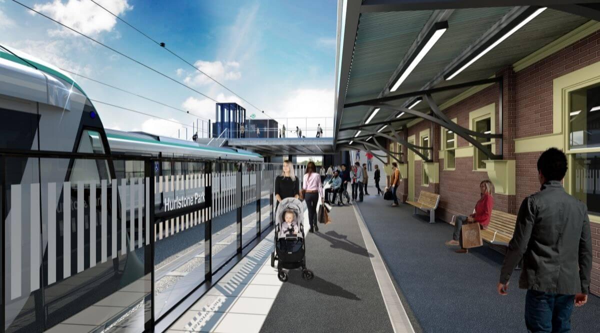 Sydney Hurlsone Park Metro Station